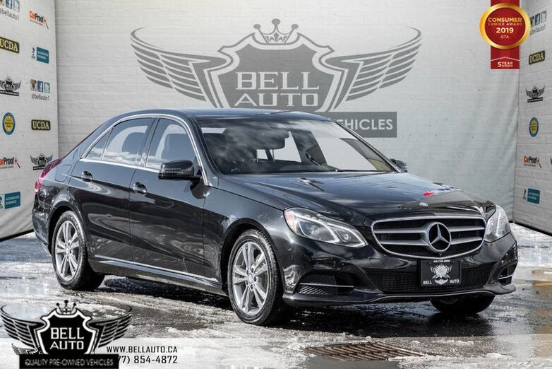 2014 Mercedes-Benz E-Class AWD, LANE ASSIST, PANO, BLIND SPOT, NAVI, BACK-UP CAM, LEATHER Toronto ON