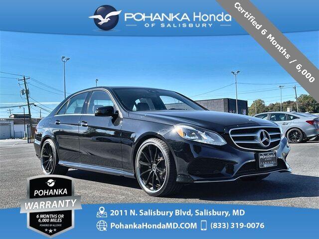 2014 Mercedes-Benz E-Class E 350 4MATIC® ** Certified 6 Months / 6,000  ** Salisbury MD