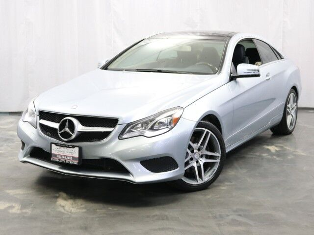 2014 Mercedes-Benz E-Class E 350 Coupe Sport / 3.5L V6 Engine / RWD / Navigation / Sunroof / Push Start / Harman Kardon Sound System / Rear View Camera Addison IL
