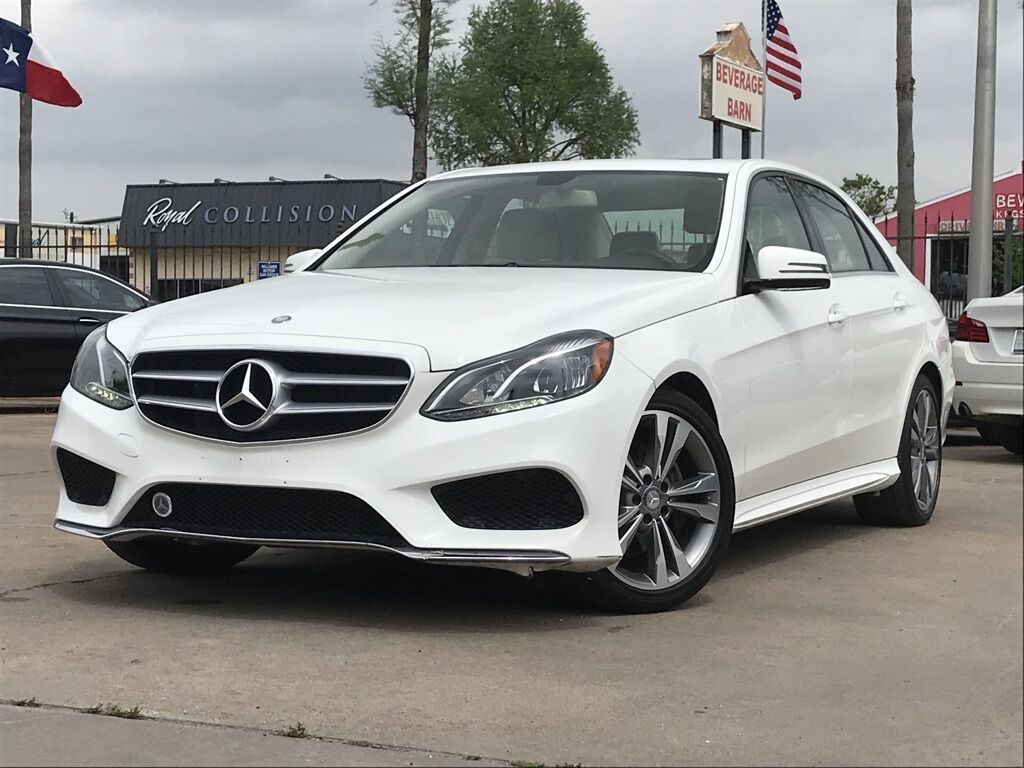 2014 Mercedes-Benz E-Class E 350 Houston TX