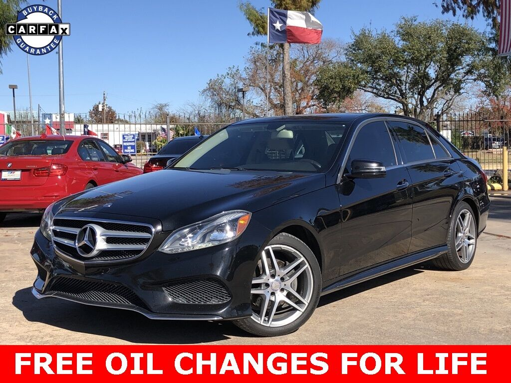 2014_Mercedes-Benz_E-Class_E 350_ Houston TX