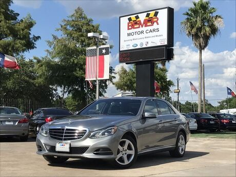 2014 Mercedes-Benz E-Class E 350 Luxury Houston TX