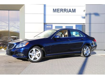 2014_Mercedes-Benz_E-Class_E 350_ Merriam KS