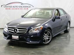 2014_Mercedes-Benz_E-Class_E 350 Sport / 3.5L V6 Engine / 4Matic AWD / Xenon Head Lights/ Panoramic roof / Navigation / Harman Kardon Premium Sound System / Rear View Camera_ Addison IL