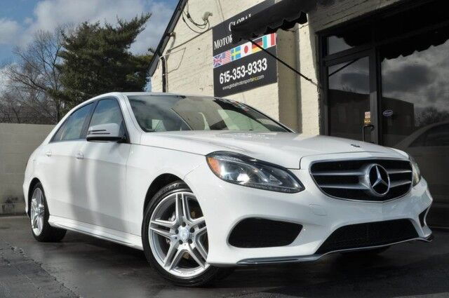 2014 Mercedes-Benz E-Class E 350 Sport/4Matic All-Wheel Drive/AMG Sport Package/Premium 01 Package w/Command Navigation, Harmon Kardon Audio, Rear-View Camera/Heated Front Seats/Low Miles, Rare Color Combination...Immaculate Nashville TN