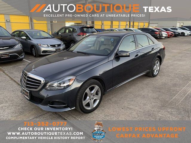 2014 Mercedes-Benz E-Class E 350 Sport Houston TX