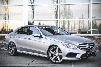 2014_Mercedes-Benz_E-Class_E 350 Sport_ Seattle WA