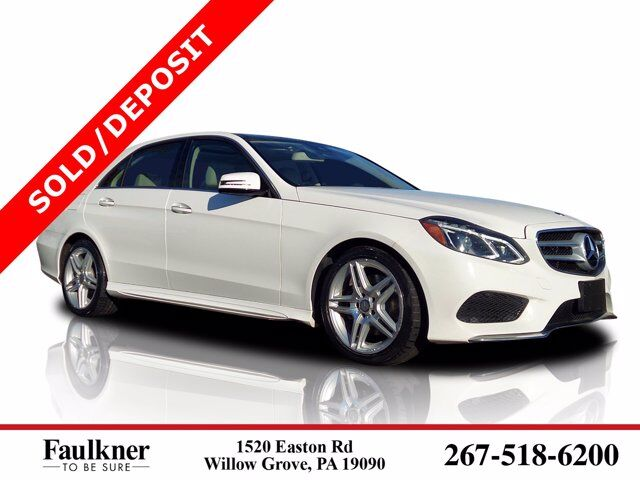 2014 Mercedes-Benz E-Class E 350 Willow Grove PA