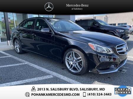 2014_Mercedes-Benz_E-Class_E 550 4MATIC® ** NAVI & SUNROOF ** ONE OWNER **_ Salisbury MD