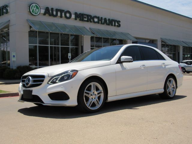 2014 Mercedes-Benz E-Class E350 Sedan NAV, BLIND SPOT, SUNROOF, BACKUP CAM, HTD SEATS, HARMON KARDON, ADAPT CRUISE, LANE DEPART Plano TX