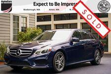 2014 Mercedes-Benz E350 4Matic Sport