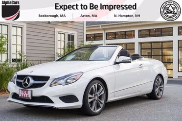 2014_Mercedes-Benz_E350_AMG Sport Cabriolet_ Boxborough MA