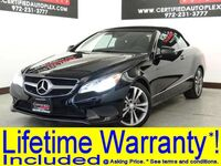Mercedes-Benz E350 CONVERTIBLE PREMIUM 1 PKG LANE TRACKING PKG WITH BLIND SPOT ASSIST LANE KEEP ASSIST 2014