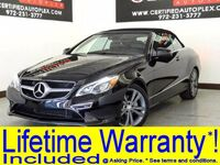 Mercedes-Benz E350 CONVERTIBLE PREMIUM PKG LANE TRACKING PKG WITH BLIND SPOT ASSIST LANE KEEP ASSIST 2014