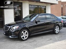 Mercedes-Benz E350 Sport 4Matic 2014