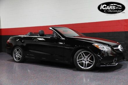 2014_Mercedes-Benz_E550_AMG Sport 2dr Convertible_ Chicago IL