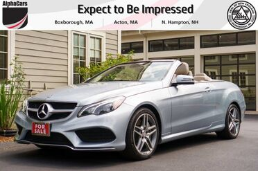 2014_Mercedes-Benz_E550_Cabriolet_ Boxborough MA