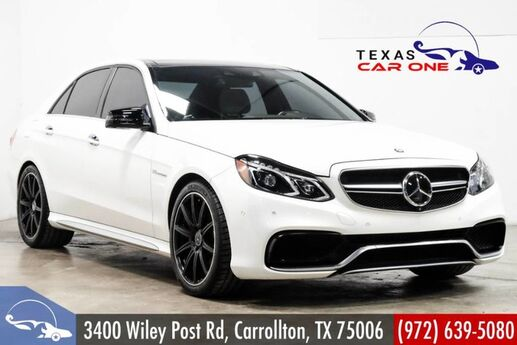 2014 Mercedes-Benz E63 4MATIC AMG S-MODEL AWD NAVIGATION BLIND SPOT ASSIST PANORAMA HARMAN KARDON Carrollton TX