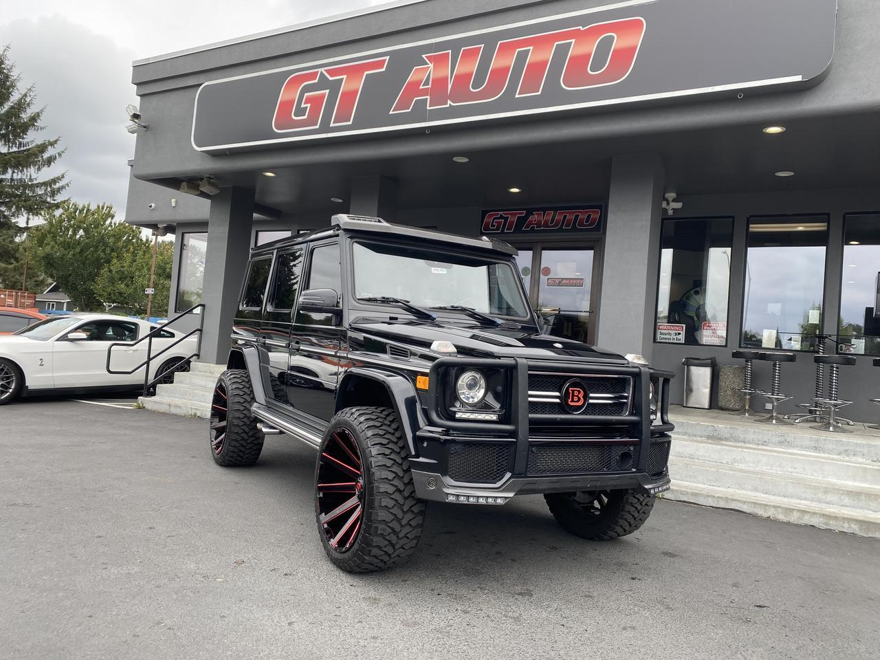 2014 Mercedes-Benz G-Class *G 63 AMG 4MATIC Designo Custom Lift Wheels and Tires, Brabus* Puyallup WA