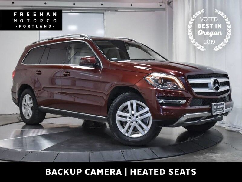 2014 Mercedes-Benz GL 350 BlueTEC 4MATIC Back-Up Cam Heated Seats Portland OR