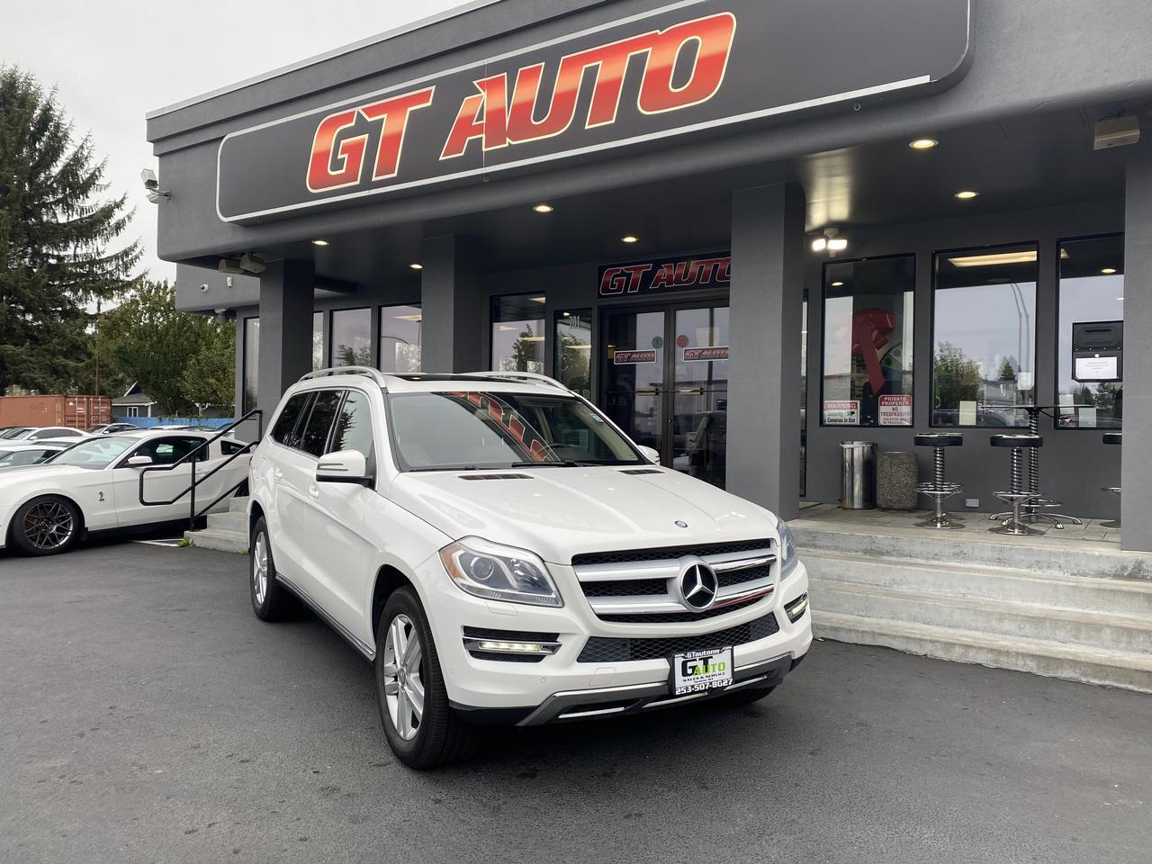 2014 Mercedes-Benz GL-Class *GL 450 4MATIC AWD Drivers, Lane Tracking and Parktronic PKG* Puyallup WA