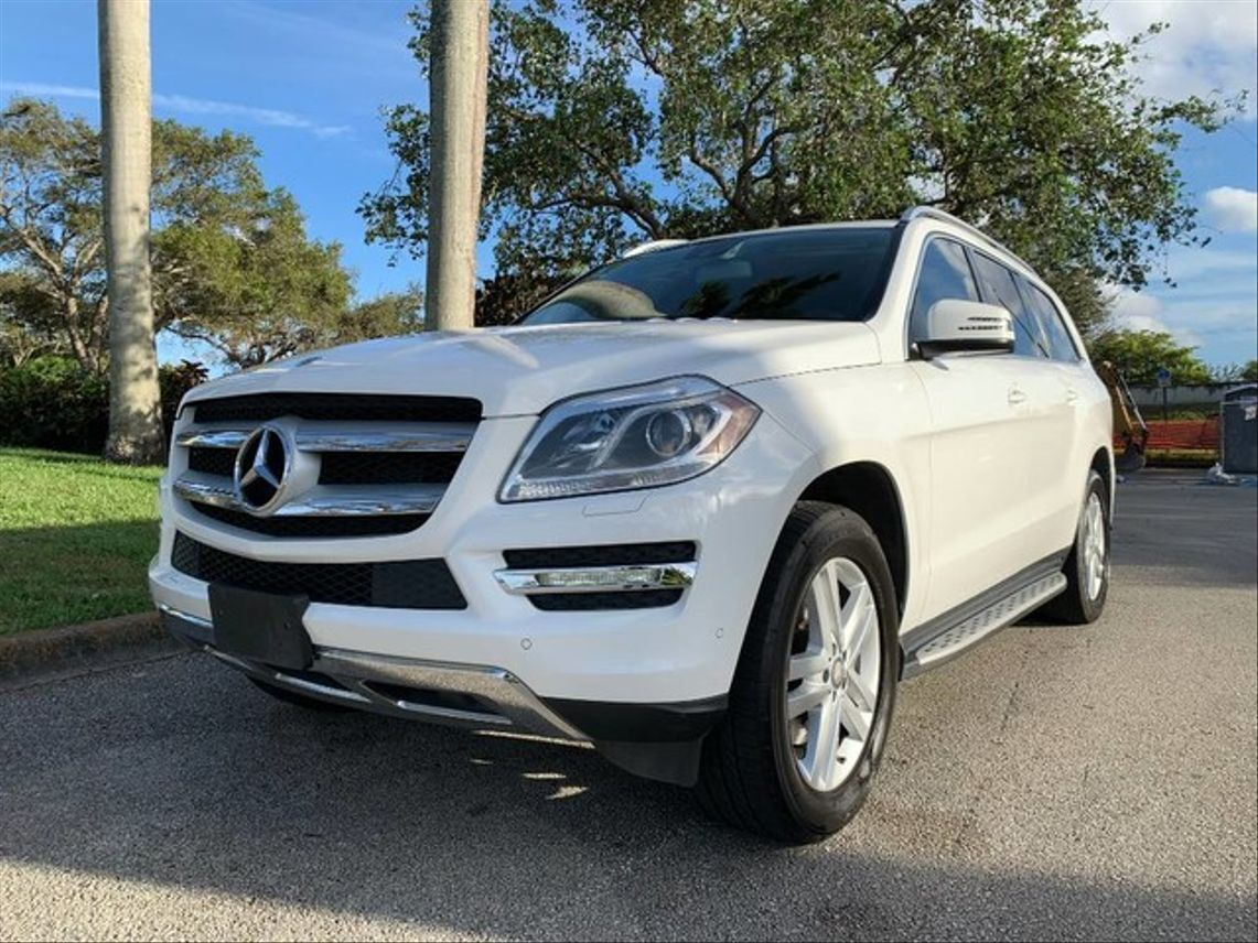 2014 Mercedes-Benz GL-Class GL 450 4MATIC Sport Utility 4D Hollywood FL