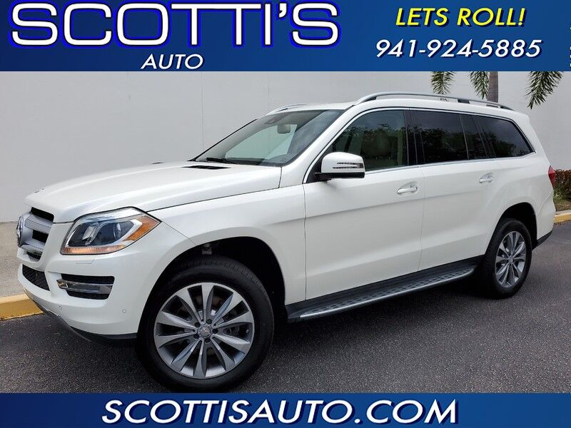 2014 Mercedes-Benz GL-Class GL 450~3RD ROW~NAVIGATION~BLIND SPOT MONITOR~REAR ENTERTAINMENT~LOADED~CLEAN CARFAX~FL CAR~FINANCING AVAILABLE Sarasota FL