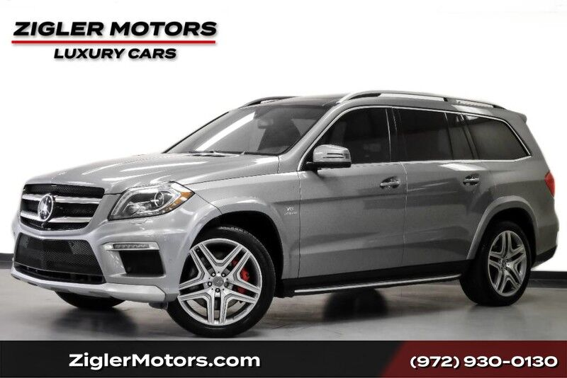 2014 Mercedes-Benz GL-Class GL 63 AMG Driving Assist 21Wheels Active CRUISE Blind Spot Lane Departure Addison TX