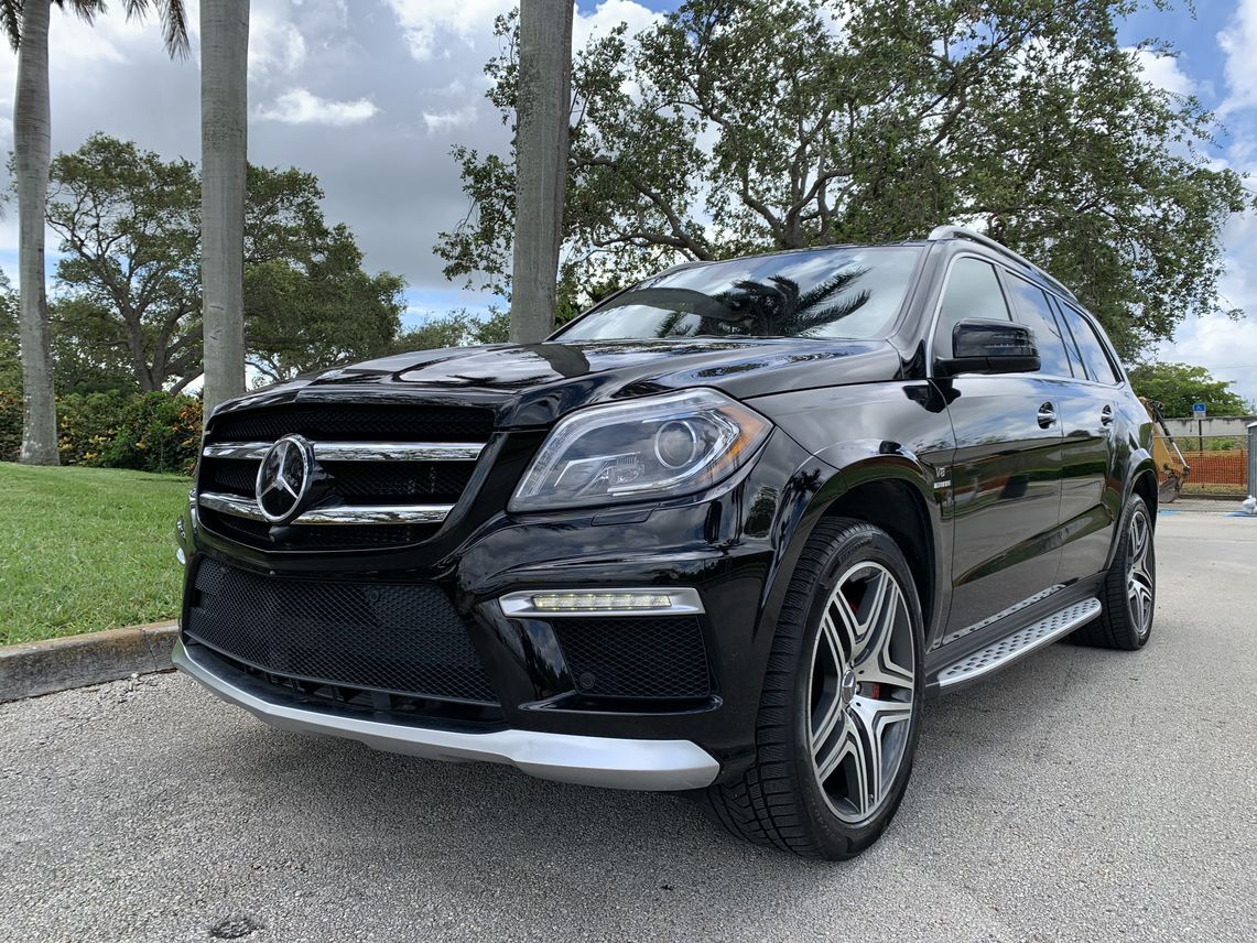 2014 Mercedes-Benz GL-Class GL 63 AMG Sport Utility 4D Hollywood FL