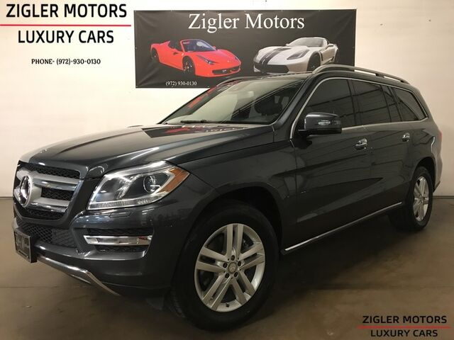 2014 Mercedes-Benz GL350 BlueTEC DIESEL: One Owner Rear Ent nice and reliable Addison TX