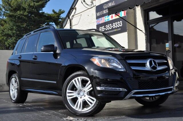 2014 Mercedes-Benz GLK-Class GLK 250 BlueTEC/4Matic/33 MPG/Premium Pkg w/ Keyless-Go/Panorama Sunroof/Heated Front Seats/Multimedia Pkg w/ Navigation, Rearview Camera/Sirius Satellite Radio/Power Liftgate Nashville TN