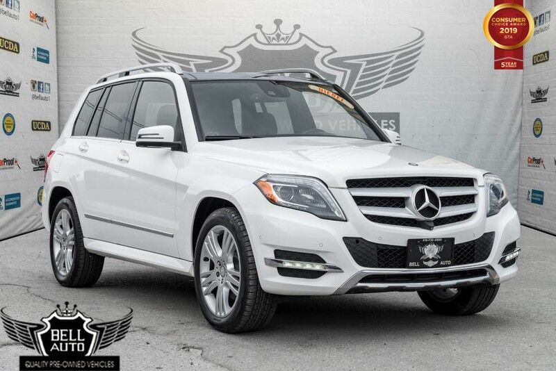 2014 Mercedes-Benz GLK250 4MATIC BLUETEC 360 CAMERA NAVIGATION PANORAMIC ROOF LEATHER