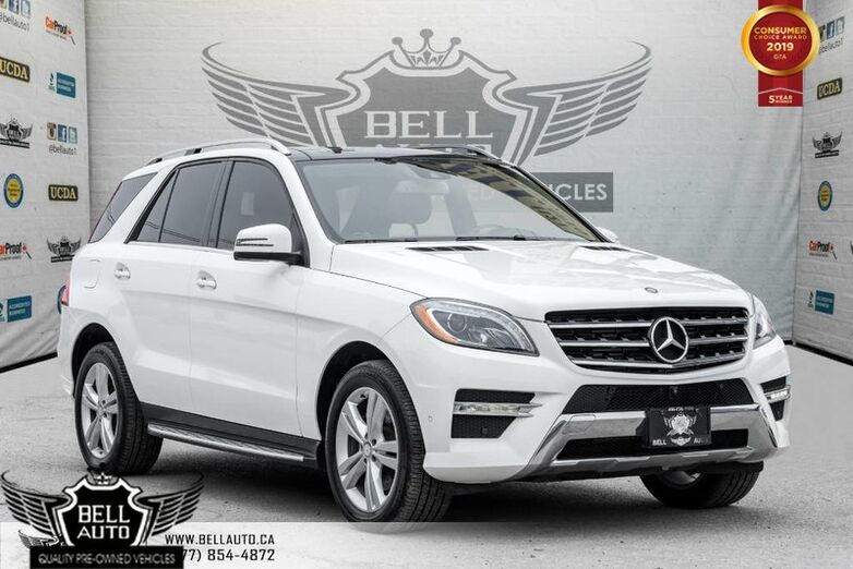 2014 Mercedes-Benz M- Class ML350 BlueTEC, NAVI, PANO ROOF, 360 CAM Toronto ON