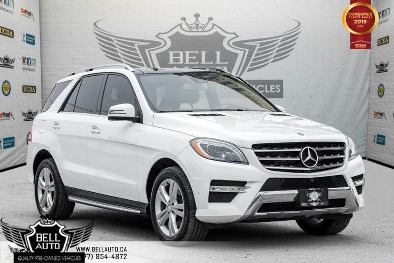 2014 Mercedes-Benz M- Class ML350 BlueTEC, NAVI, PANO ROOF, 360 CAM