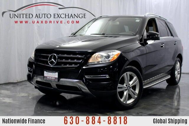 2014 Mercedes-Benz M-Class 3.0L V6 Turbocharged DIESEL Engine BlueTEC AWD 4Matic ML350 w/ Navigation, Sunroof, Bluetooth Connectivity, Blind Spot Detection, Rear View Camera Addison IL