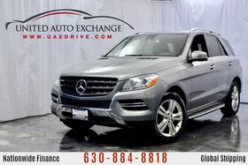 2014_Mercedes-Benz_M-Class_3.5L V6 Engine ML 350 4Matic AWD w/ Navigation, Sunroof, Harman Kardon Premium Sound System, Bluetooth Connectivity, Heated Leather Seats, Rear View Camera_ Addison IL