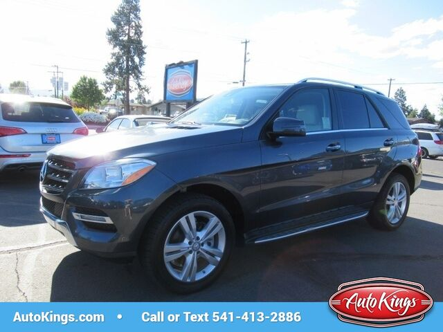 2014 Mercedes Benz M Class 4MATIC 4dr ML 350 BlueTEC Bend OR ...