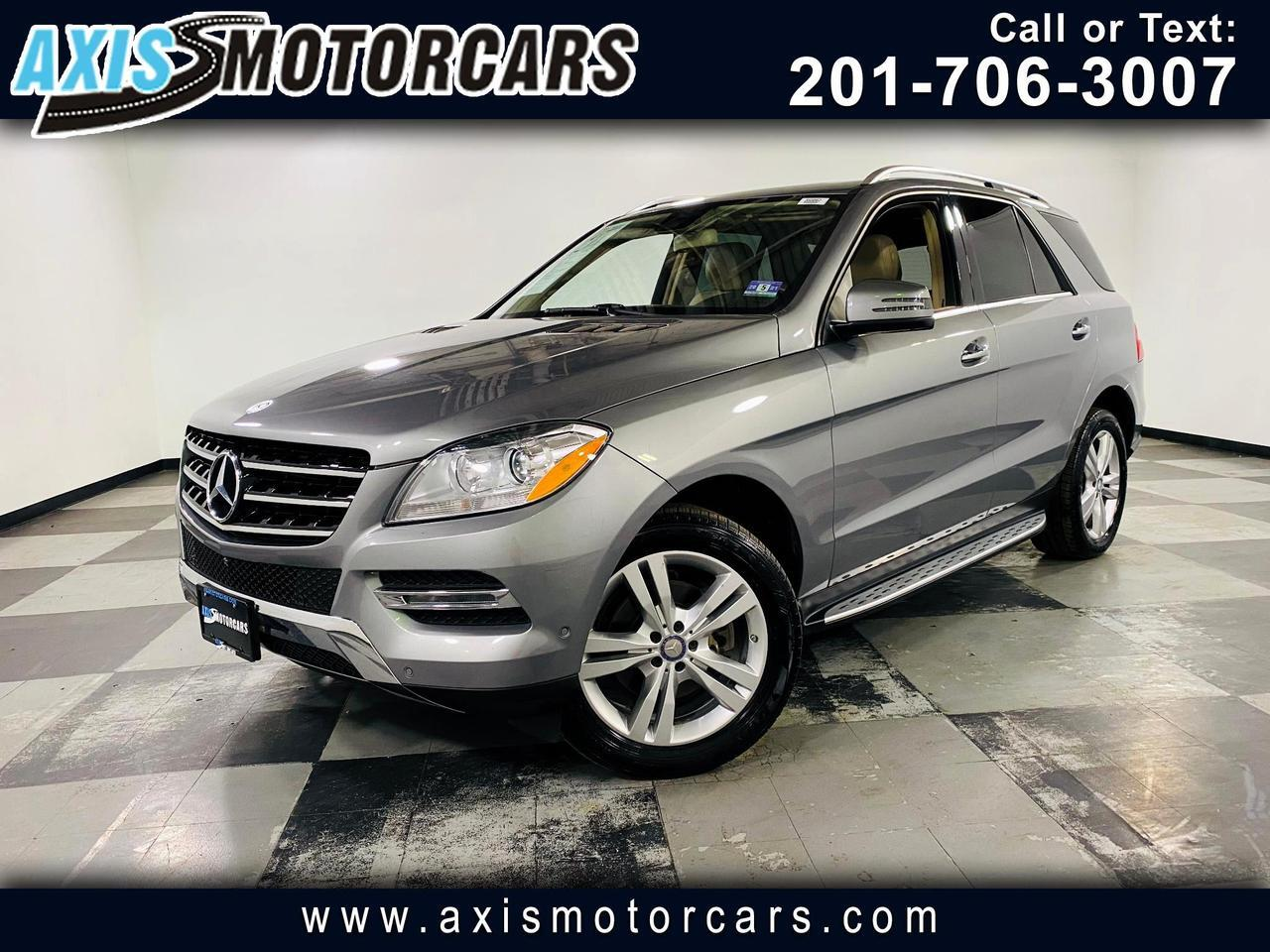 2014 Mercedes-Benz M-Class 4MATIC 4dr ML 350 Jersey City NJ