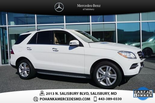 2014_Mercedes-Benz_M-Class_ML 350 4MATIC®  **  MERCEDES-BENZ CERTIFIED  **_ Salisbury MD