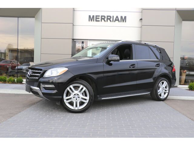 2014 Mercedes-Benz M-Class ML 350 4MATIC® Kansas City KS