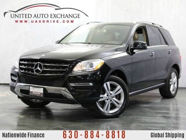 2014 Mercedes-Benz M-Class ML 350 AWD w/ Navigation, Panoramic Sunroof & Rear View Camera Addison IL