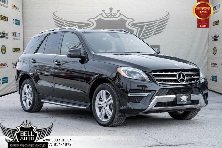 2014 Mercedes-Benz M-Class ML 350 BlueTEC, BACK-UP CAM, NAVI, BLUETOOTH, PANO ROOF Toronto ON