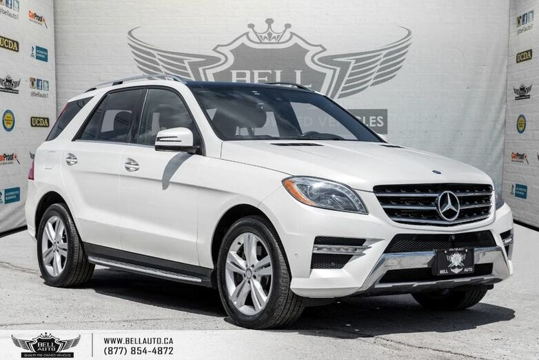 2014 Mercedes-Benz M-Class ML 350 BlueTEC, NAVI, 360 CAM, BLINDSPOT, PANO ROOF Toronto ON
