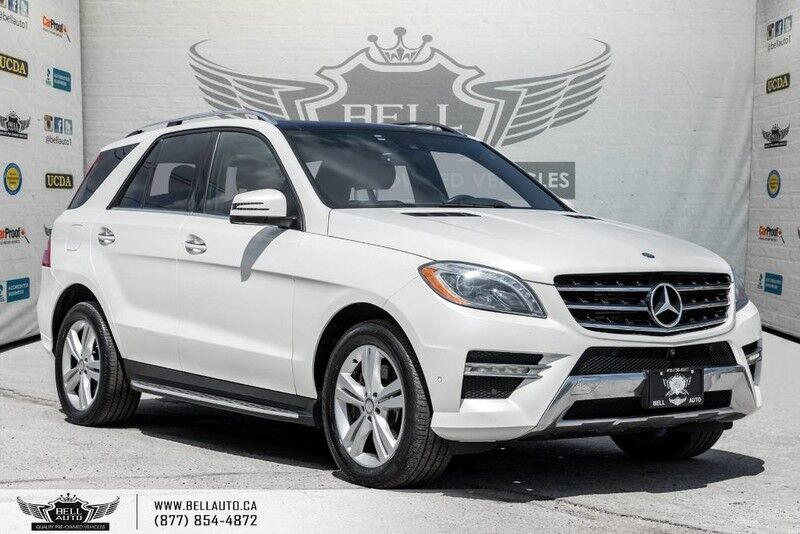 2014 Mercedes-Benz M-Class ML 350 BlueTEC, NAVI, 360 CAM, BLINDSPOT, PANO ROOF