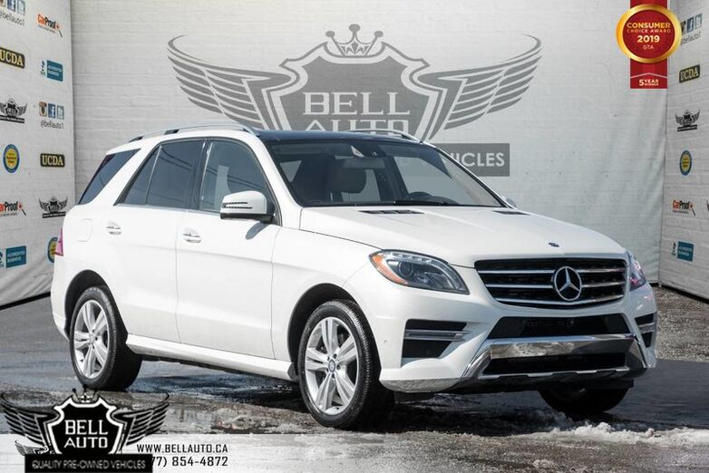 2014 Mercedes-Benz M-Class ML 350 BlueTEC, NAVI, 360 CAM, PANO ROOF, LEATHER Toronto ON