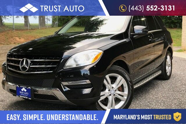 2014 Mercedes-Benz M-Class ML 350 BlueTEC Sykesville MD