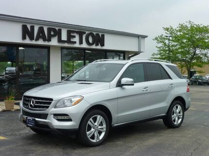 2014_Mercedes-Benz_M-Class_ML 350_ Bourbonnais IL