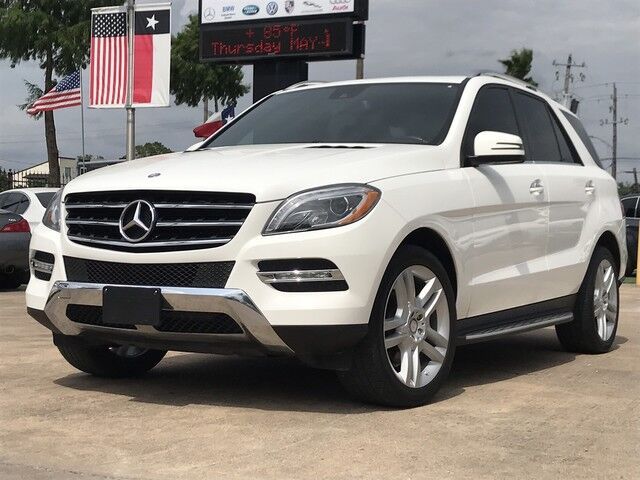 2014_Mercedes-Benz_M-Class_ML 350_ Houston TX