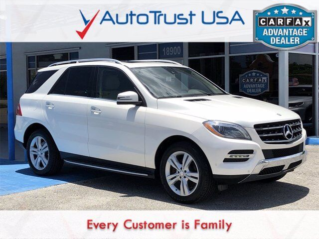 2014 Mercedes-Benz M-Class ML 350 Miami FL