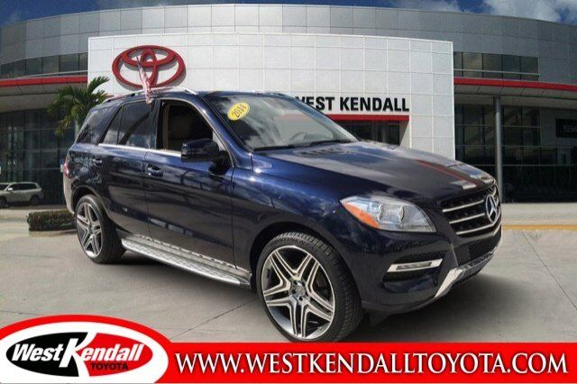 2014_Mercedes-Benz_M-Class_ML 350_ Miami FL
